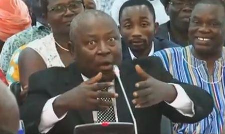 The special prosecutor, Martin Amidu
