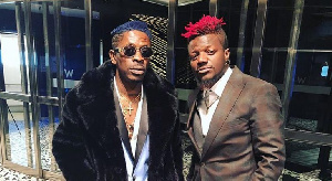 Shatta Wale with Pope Skinny back in the day