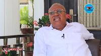 Prof. Joshua Alabi, former Vice-Chancellor of UPSA