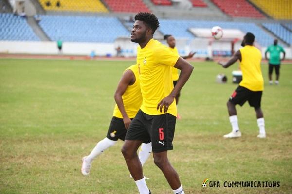 Black Stars midfielder Thomas Partey