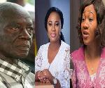 Electoral Commissioners of Ghana: Dr Afari Gyan, Mrs Charlotte Osei and Mrs Jean Mensa