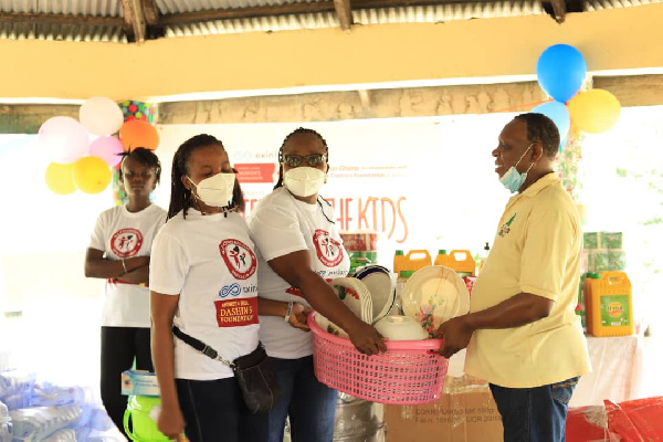 AJ Foundation donates to Hour of Grace Children's Home