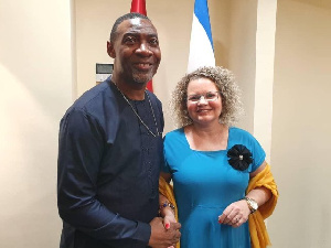 Dr Lawrence Tetteh and Madam Shani Cooper