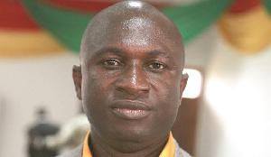 President of Medeama SC - Moses Armah Parker