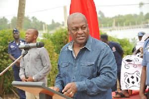 John Mahama Talk