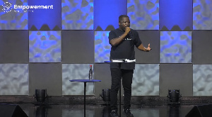 Pastor Gideon Danso is the Head pastor for Empowerment Worship Centre
