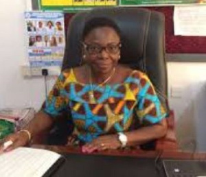Greater Regional Director for Education, Monica Ankrah