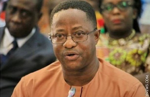 Minister of Lands and Natural Resources,John Peter Amewu