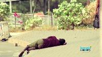 Joseph Boateng is a homeless child