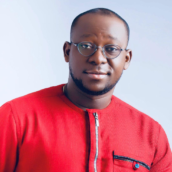 Public Relations Officer for One District One Factory, Kwaku Gyasi