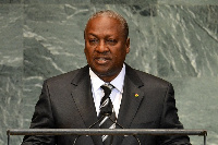 2020 NDC flagbearer, John Dramani Mahama