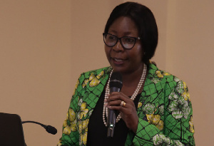 Florence Larbi, General Manager of waste management, Zoomlion