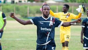 Liberty Professionals captain George Amoako Essien
