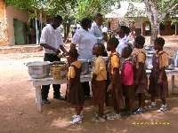 File photo: School feeding