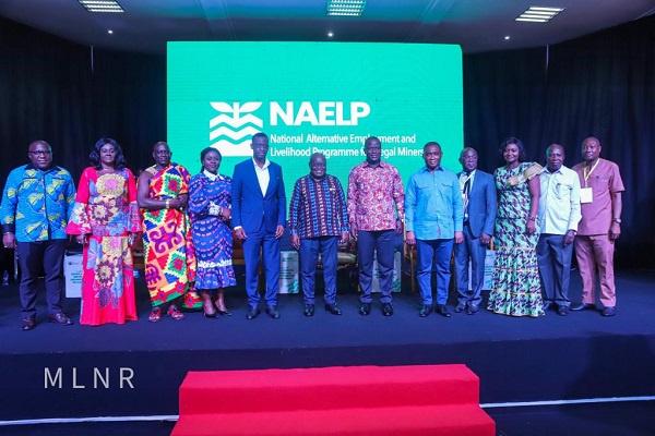 President Nana Akufo-Addo launches alternative livelihood program for galamseyers