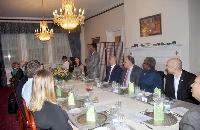 Embassy of Sri Lanka hosted the media preview dinner
