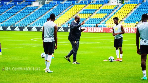 Black Meteors head coach Paa Kwesi Fabin names starting lineup for Japan friendly