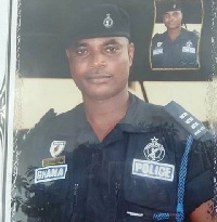 ASP Emmanuel Kwaku Asilevi was killed during the January 21 attack on the Kwabenya police station