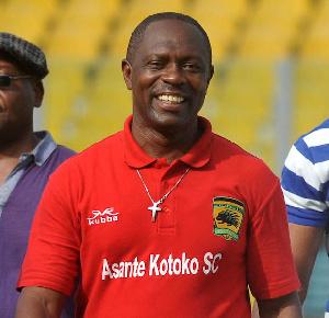 General Manager of Asante Kotoko Opoku Nti