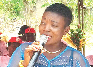 Mary Boatemaa Marfo was the Chief Executive of the Sekyere East District of the Ashanti Region