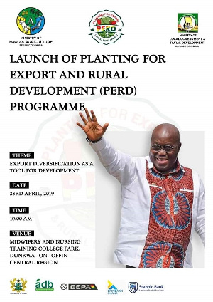 The initiative was launched by President Akufo-Addo in 2019