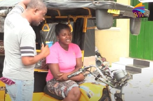 Cecilia has disclosed why she became a tricycle rider