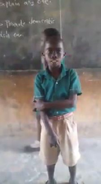 This young boy has been trending on social media