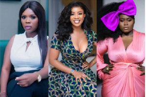 Delay, Serwaa Amihere and Nana Aba Anamoah are part the list of eligible female spinsters
