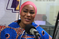 Samira Bawumia, the wife of the Vice Presidential Candidate of the New Patriotic Party