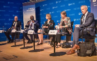 Dr. Bawumia was part of panelists at the 8th Extractive Industries Transparency Initiative