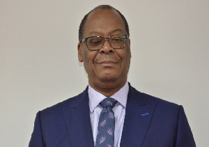 Out going GCB Managing Director, Ransford Anselm Sowah