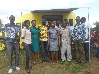 Team of Audiologists-from UEW and Salvation Army Hospital-Agona Duakwa