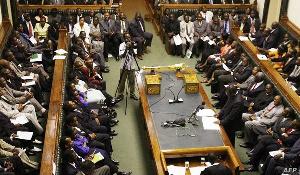 A photo of Zimbabwean parliament