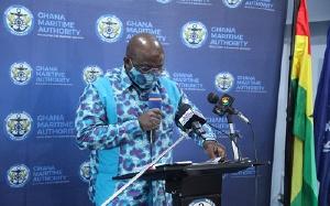 Director General of the Ghana Maritime Authority, Thomas Kofi Alonsi