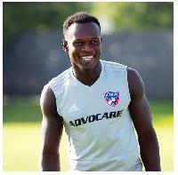 FC Dallas striker, Francis Atuahene