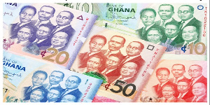 The Cedi traded against the dollar at a mid-rate of 5.8698