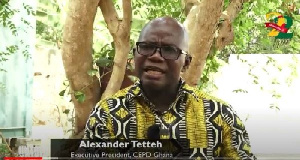 Mr. Alexander Tetteh persisted amid a very challenging childhood as a physically-challenged person
