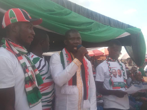 I will fix Manso roads - Aspiring NDC MP