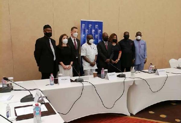 Ken Ofori-Atta at GhanaCARES Obaatanpa Strategy Retreat