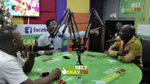 A Plus and Socrate were panelists on Okay FM