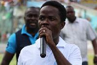 Communications Director of GFA's Normalization Committee Dan Kweku Yeboah