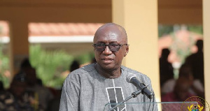 Ambrose Dery is the Interior Minister