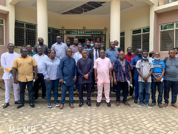 Mireku Duker engages Chiefs, DCE, stakeholders in Shama District on developing Clay Mining Industry
