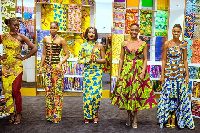 Vlisco Capsule Collection is back in the flagship store at Accra Mall