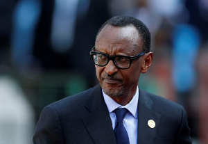 Rwanda Preasident, Paul Kagame