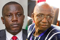 Defence Minister Dominic Nitiwul and Interior Minister Ambrose Dery