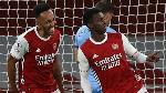 Aubameyang teaching Eddie Nketiah how to be a 'top striker'