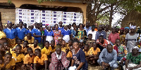 The DCE and some of the participants in a group photo