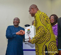 Vice President Dr Mahamudu Bawumia launched the code to help regulate the building industry