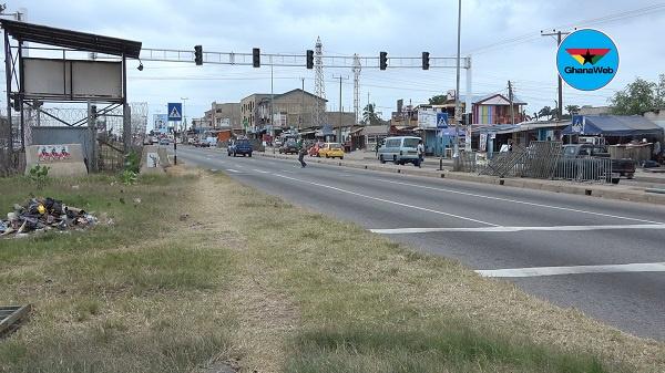 Awoshie-Mangoase: Residents give govt one-week ultimatum to fix traffic lights